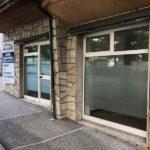 Ingresso della sede di Adiura Perugia in via Mario Angeloni